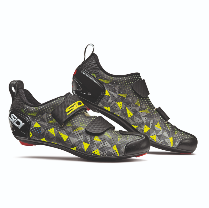 SIDI Fietsschoenen Race Unisex Grijs Geel - T-5 Air Carbon Composite Grey/Yellow/Black