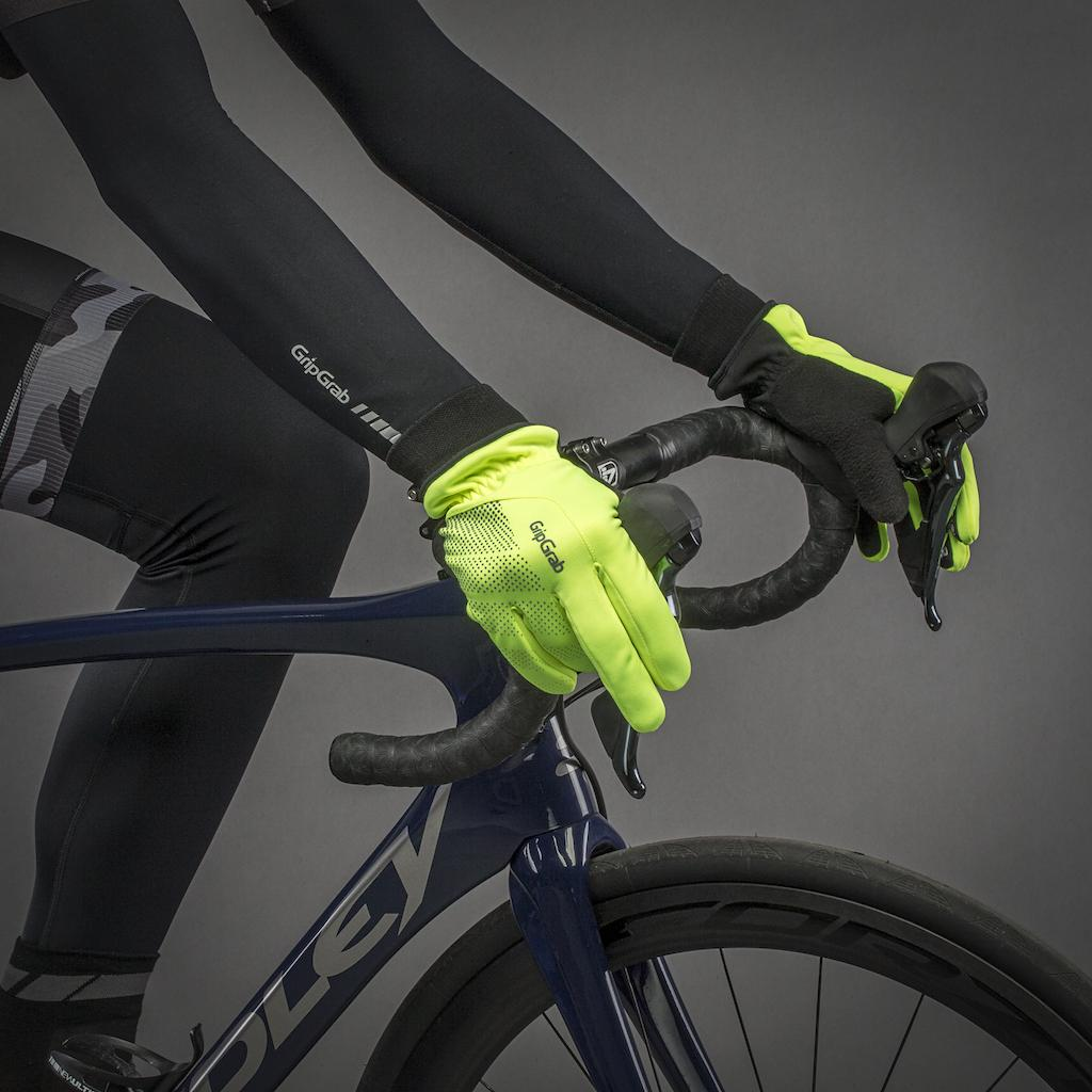 GripGrab Fietshandschoenen winter winddicht Hi-vis Fluo  / Ride Windproof Hi-Vis Winter Glove Fluo Yellow