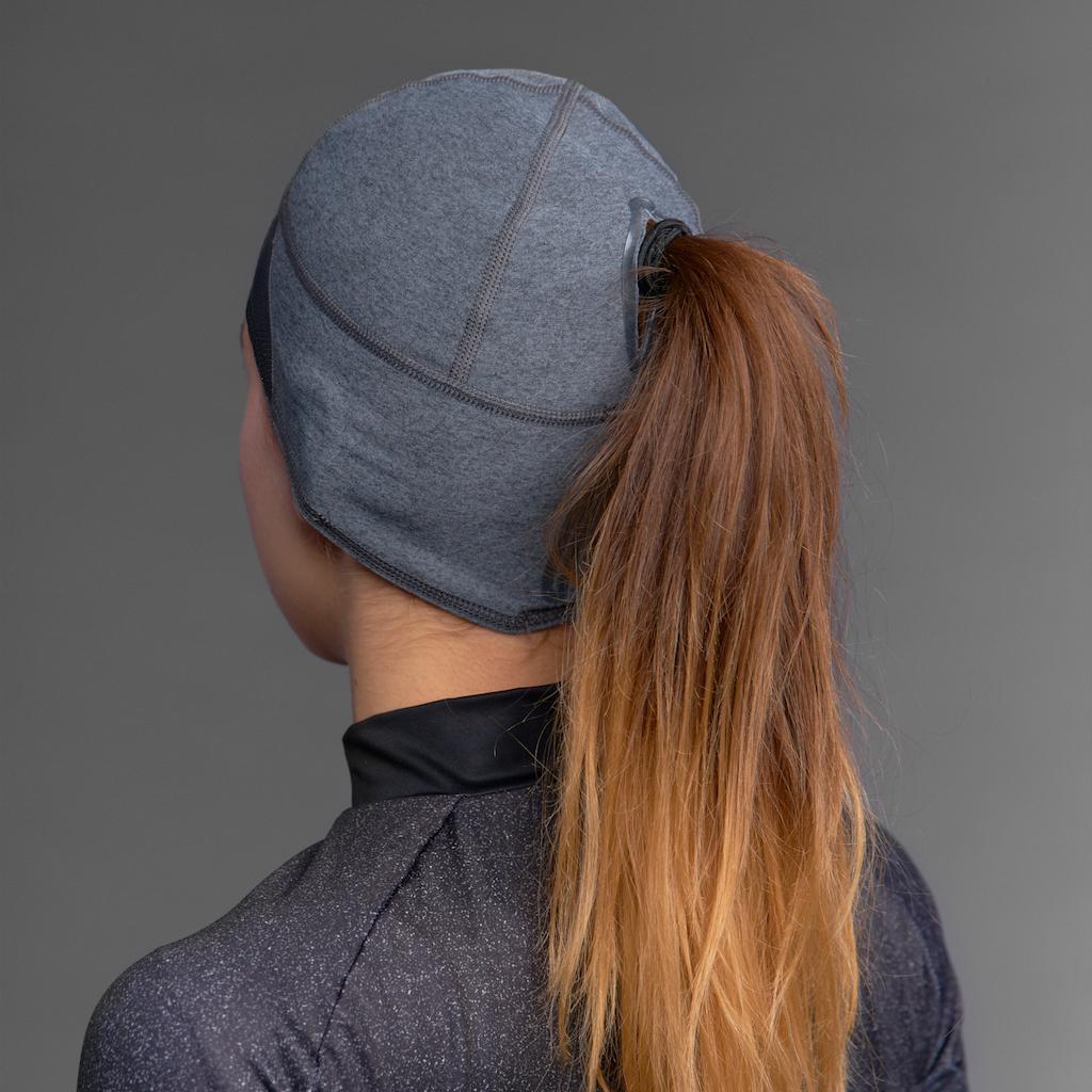 GripGrab Haarband Windproof Dames Grijs  / Women's Windproof Skull Cap Grey