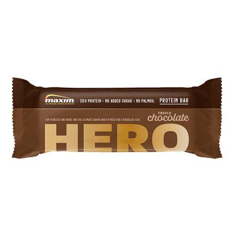 Afbeelding Maxim Protein Bar HERO - Triple Chocolate 55g