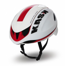 Kask infinity wit rood