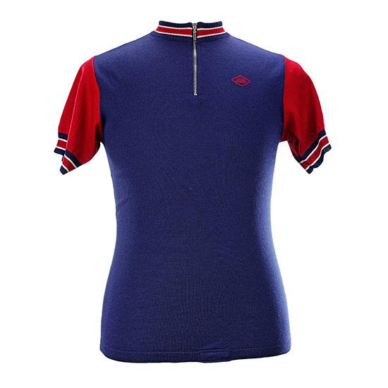 Magliamo Team Great Britain wielershirt merino wol met korte mouwen / wollen koerstrui GB Team 1965 SS