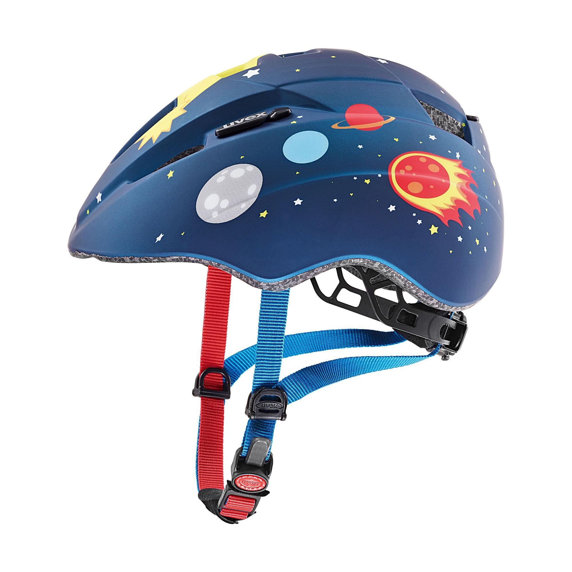 | Uvex Fietshelm Urban Blauw  Kids - UV Kid 2 cc-Blue Rocket