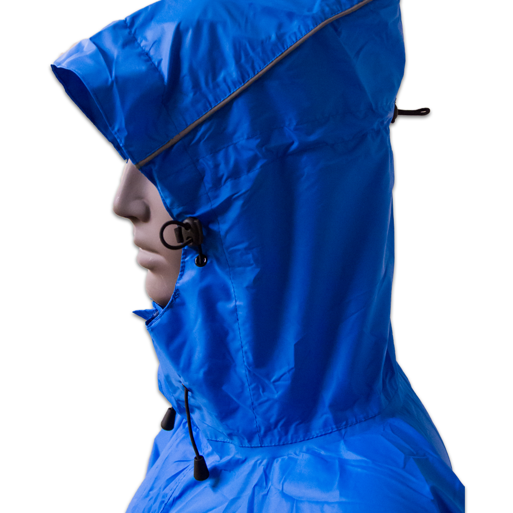 Mac in a Sac Wandelponcho Unisex Blauw  / Lowland Walkingponcho Royal Blue