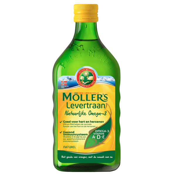 Maxim Möller's Levertraan Naturel (250ml)