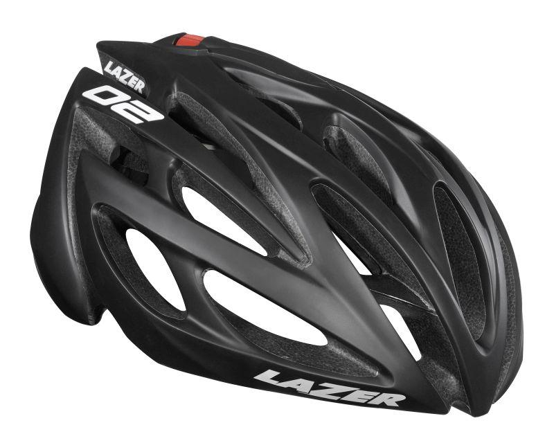 Afbeelding Lazer O2 CE / Fietshelm  Race Black/Mat (also in XL)