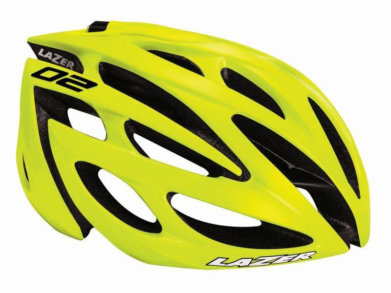 Afbeelding Lazer O2 CE / Fietshelm Race Flash Yellow