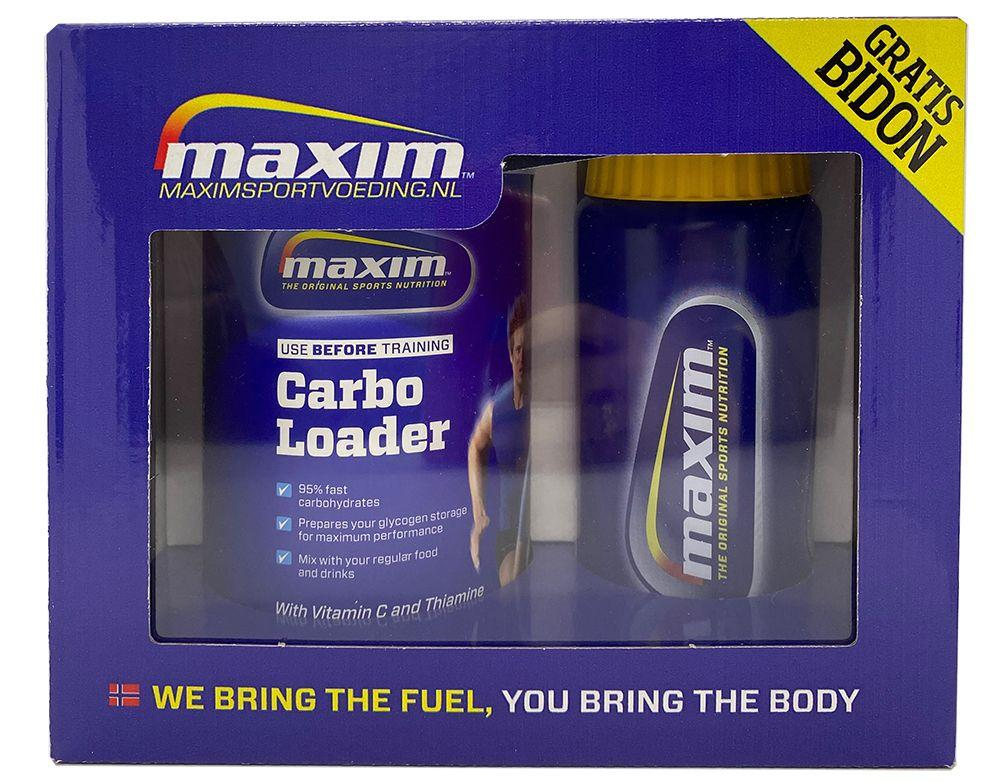 Afbeelding Maxim Carbo Loader 500g + gratis 500ml bidon