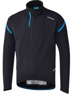 Shimano Performance Windbreak Wielershirt Zwart blauw