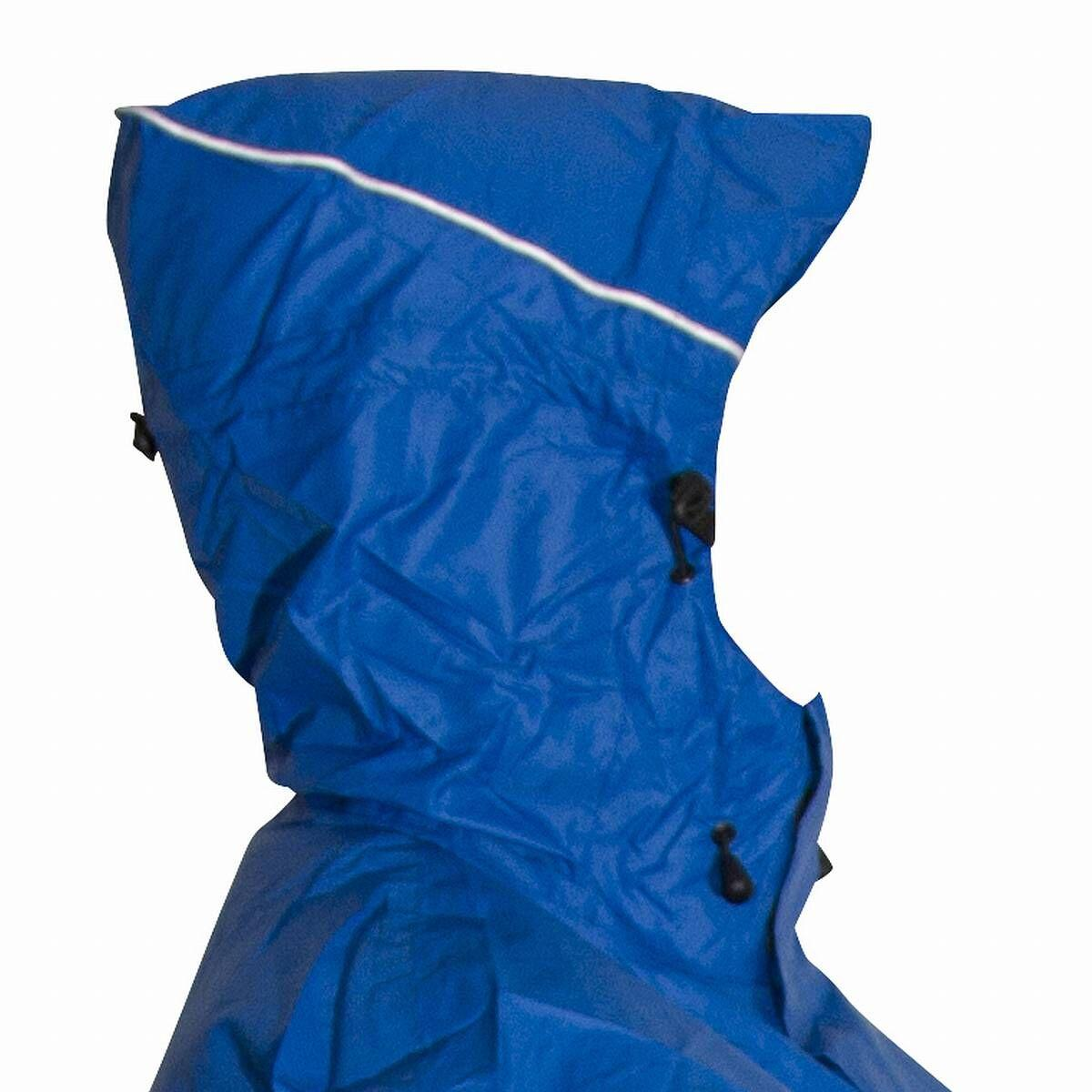 Mac in a Sac Rugzakponcho unisex Blauw  / Backpackponcho blue