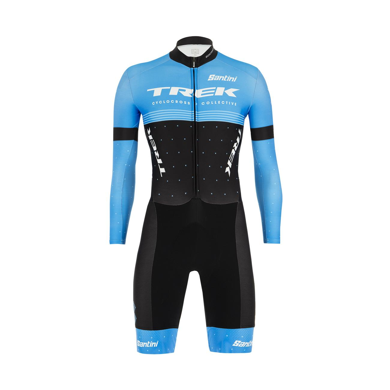 Santini Snelpak Cyclocross Heren Zwart - Trek Factory Racing Cxc Design Boss Cyclocross Skinsuit