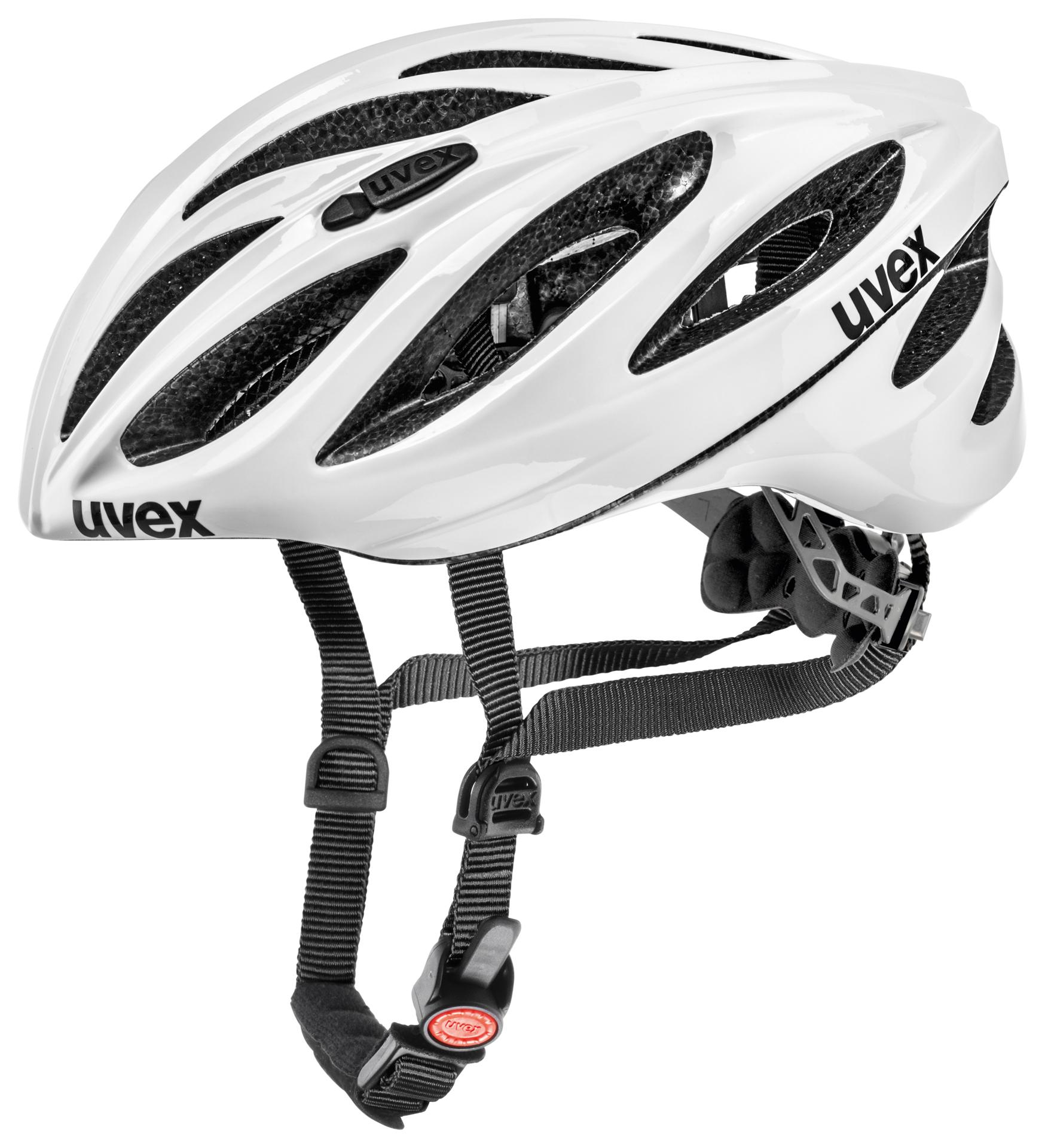 Uvex Fietshelm unisex Wit  / UV Boss Race White