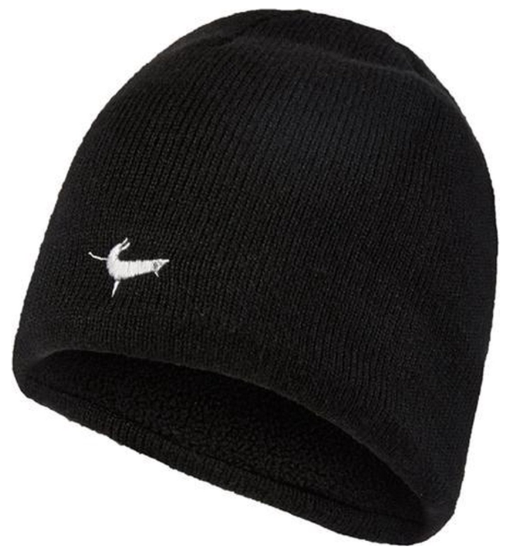 Sealskinz Waterproof Beanie Hat-Black/Charcoal/Anthracite