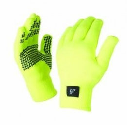 Sealskinz winter fietshandschoenen ultra grip geel