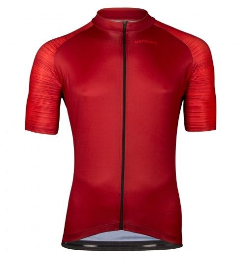 Vermarc Fietsshirt Korte mouwen Heren Bordeaux / SEISO Short Sleeves AERO ? Bordeaux/Red