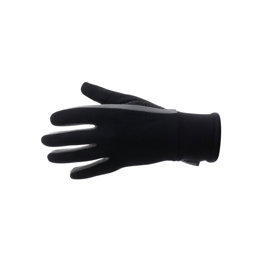 Santini Fietshandschoenen winter waterdicht Zwart Heren - Vega Acquazero Water Resistant Gloves Black