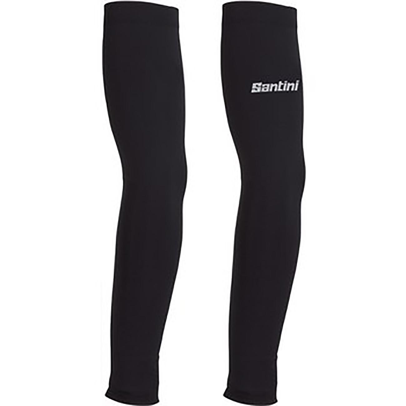 Santini Armwarmers Zwart Unisex - Cool 2.0 Lycra Arm Coolers Black