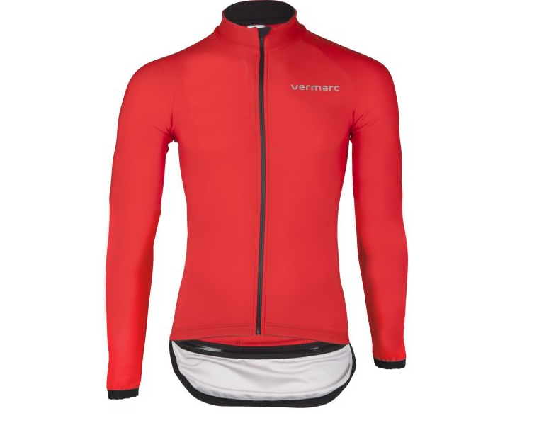 Vermarc Fietsjack winter unisex Rood  / ZERO AQUA Long Sleeves - Red