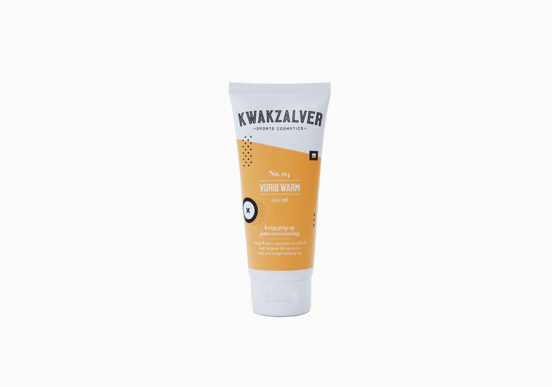 Kwakzalver Vurig Warm | Warming-Up Gel